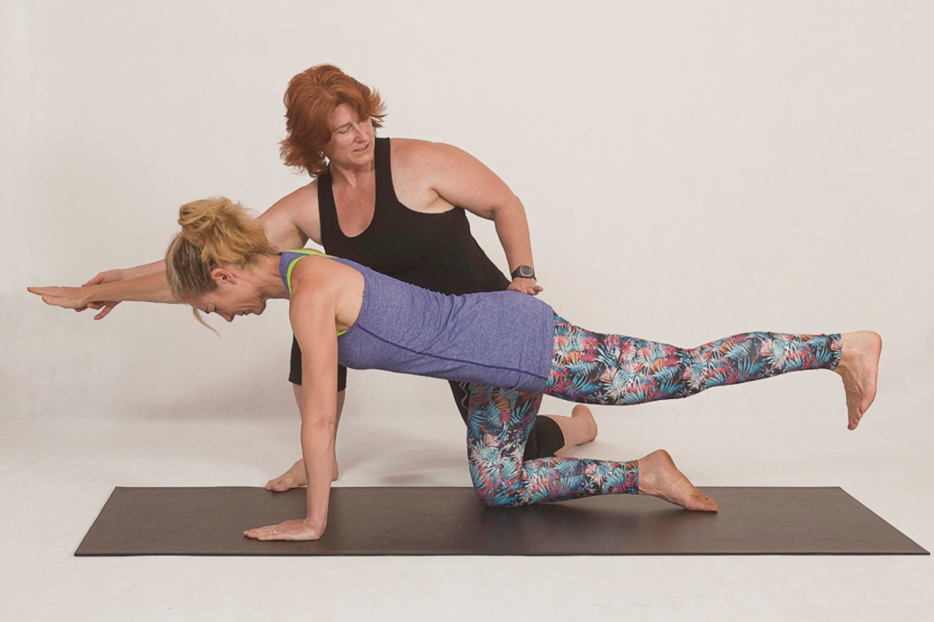 Yoga – to touch or not?