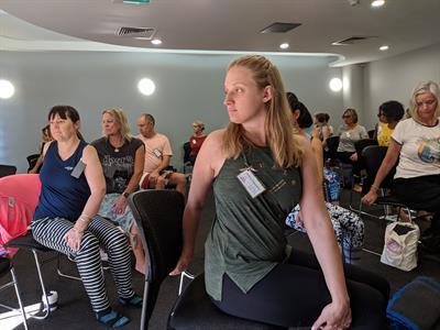 Senior's Yoga teacher Training Sydney