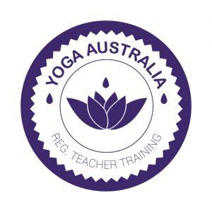 Yoga Australia Registered Logo for IYTA