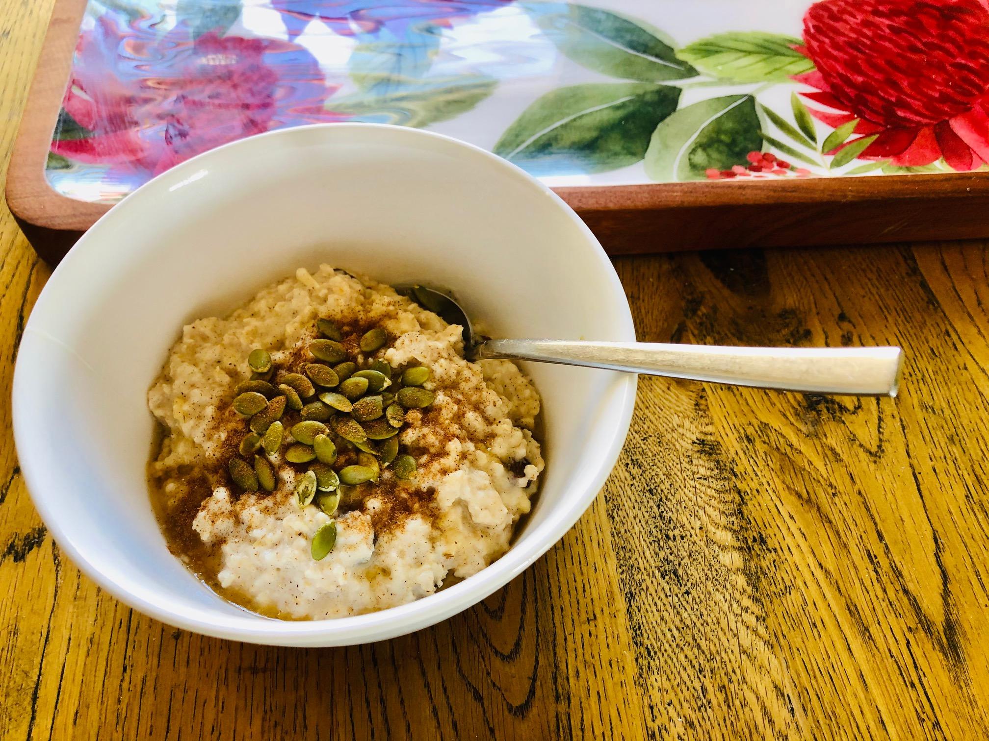 Spiced Winter Porridge